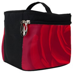 Roses Red Love Make Up Travel Bag (big) by HermanTelo