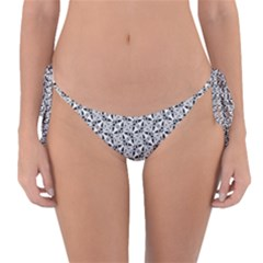 Ornamental Checkerboard Reversible Bikini Bottom by HermanTelo
