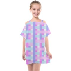 Gingham Nurserybaby Kids  One Piece Chiffon Dress
