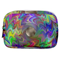 Rainbow Plasma Neon Make Up Pouch (small)