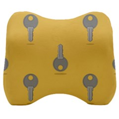 Key Velour Head Support Cushion