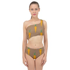 Healthy Fresh Carrot Spliced Up Two Piece Swimsuit