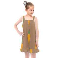 Healthy Fresh Carrot Kids  Overall Dress by HermanTelo