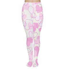 Valentine Background Hearts Tights