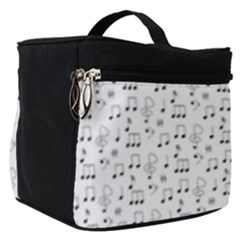 Music Notes Background Make Up Travel Bag (small)