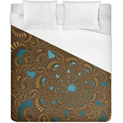 Fractal Abstract Duvet Cover (california King Size)