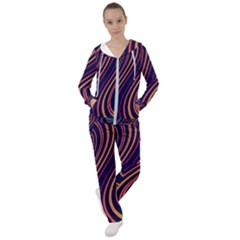 Fractal Mathematics Generated Women s Tracksuit