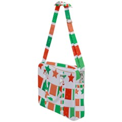 Christmas Bunting Banners Tasse Cross Body Office Bag by Bajindul