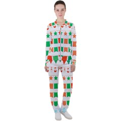 Christmas Bunting Banners Tasse Casual Jacket And Pants Set by Bajindul