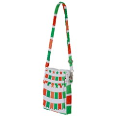 Christmas Bunting Banners Tasse Multi Function Travel Bag