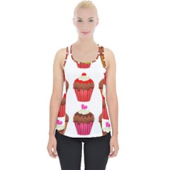 Chocolate Cake Muffin Piece Up Tank Top
