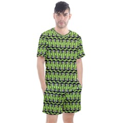 Guitars Musical Instruments Men s Mesh Tee And Shorts Set