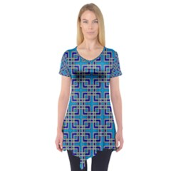 Rby 2 7 Short Sleeve Tunic  by ArtworkByPatrick