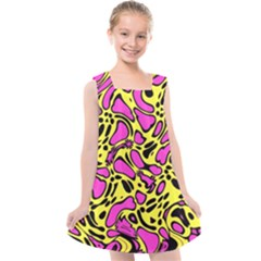 Splotchyblob Kids  Cross Back Dress by designsbyamerianna
