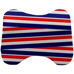 Patriotic Ribbons Head Support Cushion