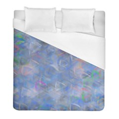 Abstract Triangles Geometric Duvet Cover (full/ Double Size) by Bajindul