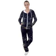 Fractal Abstract Rendering Women s Tracksuit
