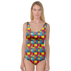 Lego Background Princess Tank Leotard  by HermanTelo