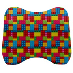 Lego Background Velour Head Support Cushion