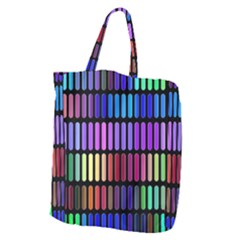 Resolve Art Pattern Giant Grocery Tote