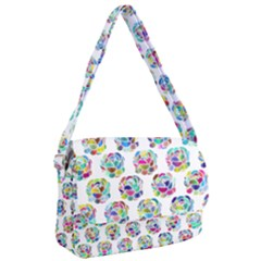 Flowers Floral Pattern Decorative Courier Bag