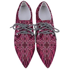 Abstract Pattern Mandala Decorative Pointed Oxford Shoes