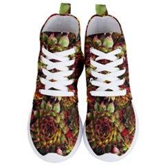 Plant Succulents Succulent Women s Lightweight High Top Sneakers by Pakrebo