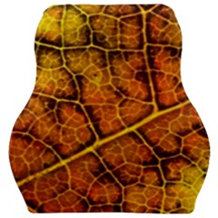 Autumn Leaves Forest Fall Color Car Seat Velour Cushion