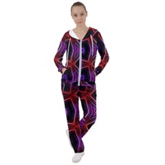 Pattern Abstract Wallpaper Art Women s Tracksuit