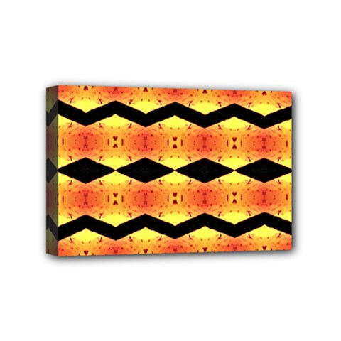 Wallpaper Background Abstract Mini Canvas 6  X 4  (stretched)