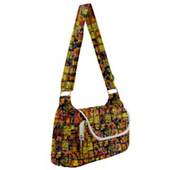 Color Abstract Artifact Pixel Multipack Bag