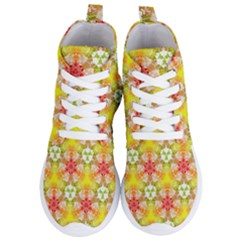 Background Abstract Pattern Texture Women s Lightweight High Top Sneakers by Pakrebo