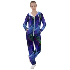 Abstract Desktop Background Women s Tracksuit