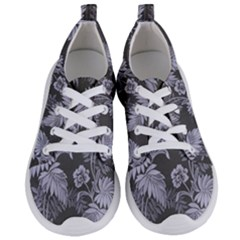 Ornament Flowers Leaf Women s Lightweight Sports Shoes