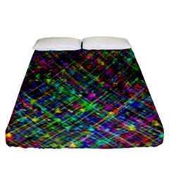 Pattern Artistically Fitted Sheet (queen Size)