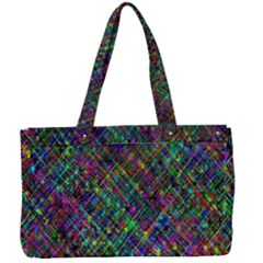 Pattern Artistically Canvas Work Bag