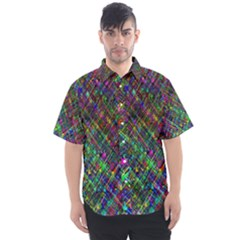 Pattern Artistically Men s Short Sleeve Shirt by HermanTelo