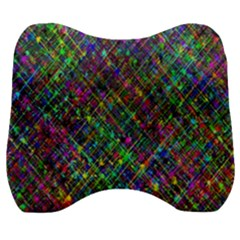 Pattern Artistically Velour Head Support Cushion