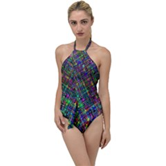 Pattern Artistically Go With The Flow One Piece Swimsuit