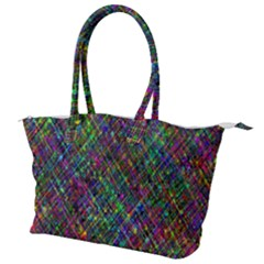 Pattern Artistically Canvas Shoulder Bag