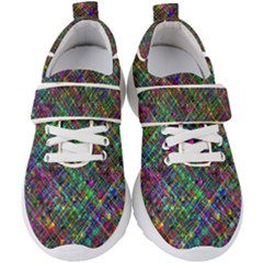 Pattern Artistically Kids  Velcro Strap Shoes by HermanTelo
