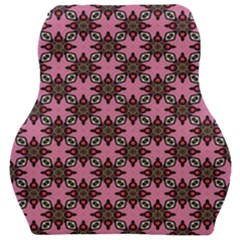 Purple Pattern Texture Car Seat Velour Cushion  by HermanTelo