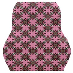 Purple Pattern Texture Car Seat Back Cushion