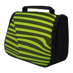 Wave Green Full Print Travel Pouch (small)