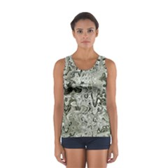Abstract Stone Texture Sport Tank Top  by Bajindul