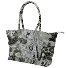 Abstract Stone Texture Canvas Shoulder Bag
