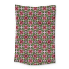 Decorative Flower Small Tapestry by Bajindul