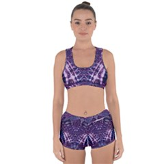 Purple Love Racerback Boyleg Bikini Set by KirstenStar