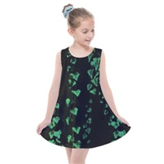 Botanical Dark Print Kids  Summer Dress by dflcprintsclothing