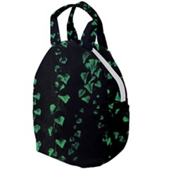 Botanical Dark Print Travel Backpacks by dflcprintsclothing